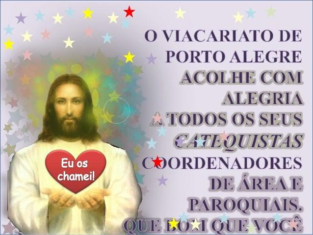 """HINO DO II CONGRESSODE INICIAÇÃO À VIDA CRISTÃ   Letra e música Frei Luiz Turra            Refrão:    """"VENHAM, VENHAM,    ..."""