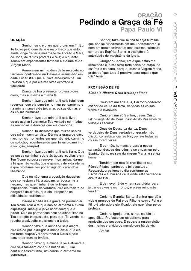 ORAÇÃO                                                                                                          3         ...