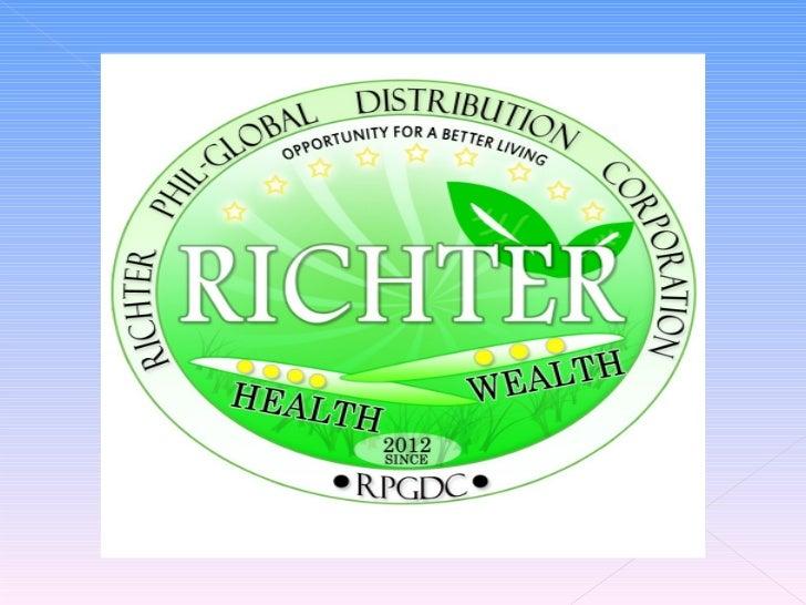 RICHTER PHIL. - GLOBAL      DISTRIBUTION     CORPORATION503 Alen Condo. 92 Gil  Puyat Ave. Pasay City  Tel. No.:(02)483-97...