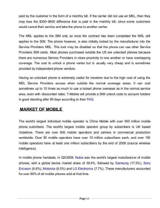 A nokia project report_2