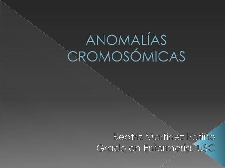    Cualquier alteración en el número o    morfología de los cromosomas.          Alteraciones          estructurales     ...