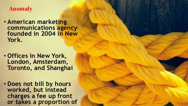 Anomaly ad agency Slide 2