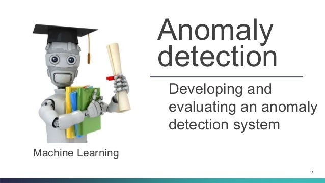 machine learning anomaly detection