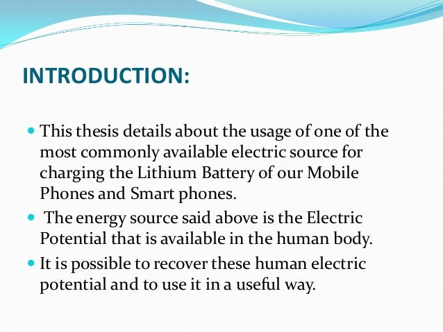 thesis on energy conservation Thesis on energy conservation we are experts with more than 10 years of experience get resume writing tips along with essay, cover letter or resume.