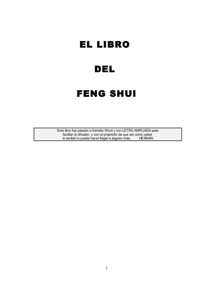 Anon el libro del feng shui for Tecnica del feng shui