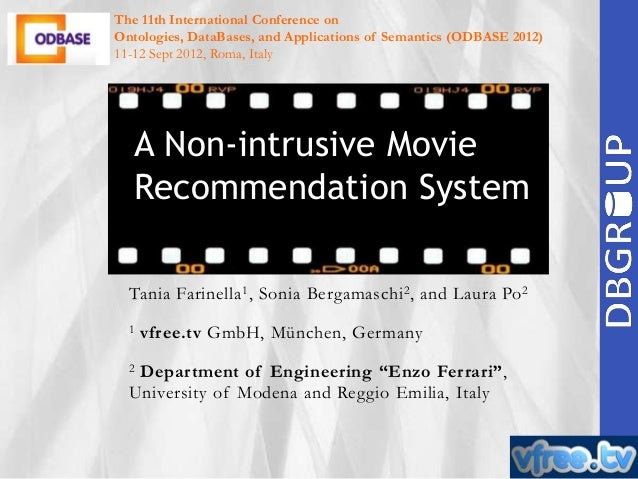 The 11th International Conference on Ontologies, DataBases, and Applications of Semantics (ODBASE 2012) 11-12 Sept 2012, R...