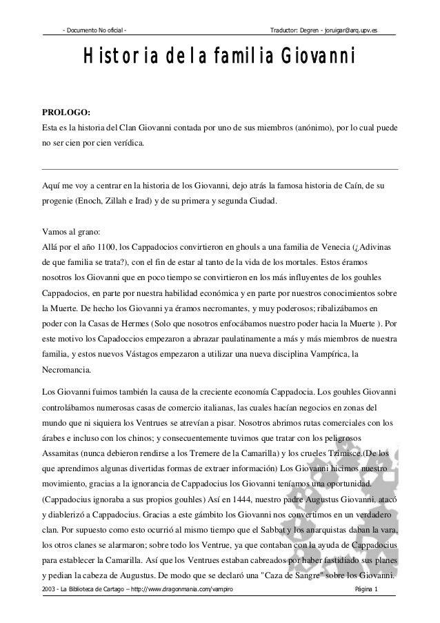 - Documento No oficial -                                        Traductor: Degren - joruigar@arq.upv.es              Histo...