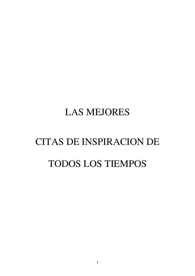 LAS MEJORESCITAS DE INSPIRACION DE  TODOS LOS TIEMPOS           1
