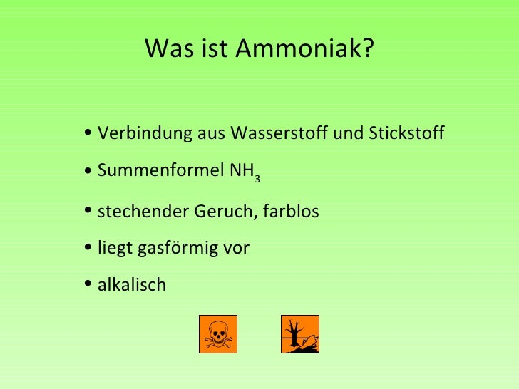 die bildung von ammoniak the formation of ammonia. Black Bedroom Furniture Sets. Home Design Ideas