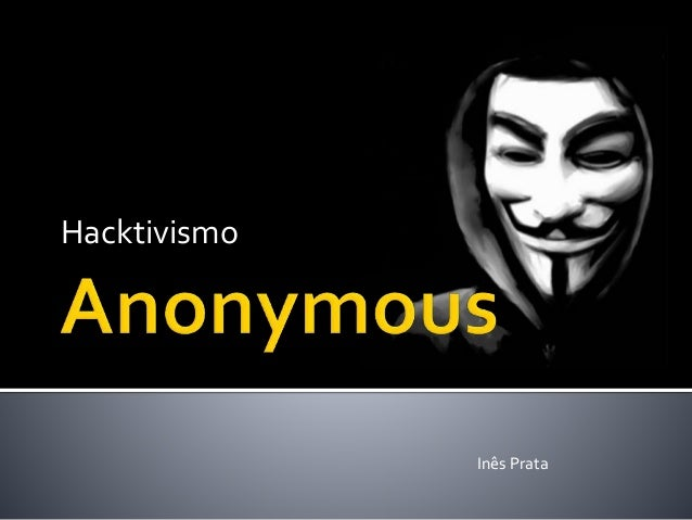 Hacktivismo Inês Prata