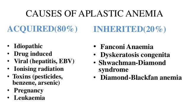 Aplastic Anemia Clinical Presentation: History, Physical ...