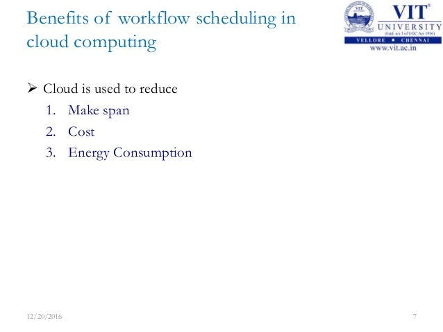 Cloud computing scheduling thesis
