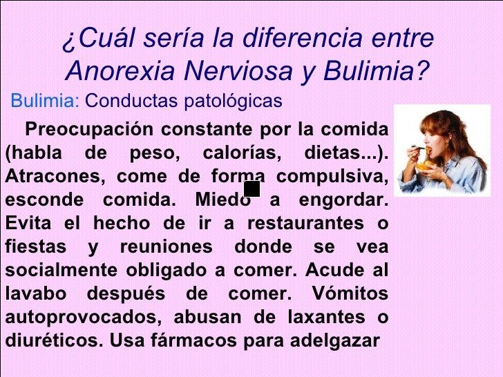 Anorexia dietas para adelgazar