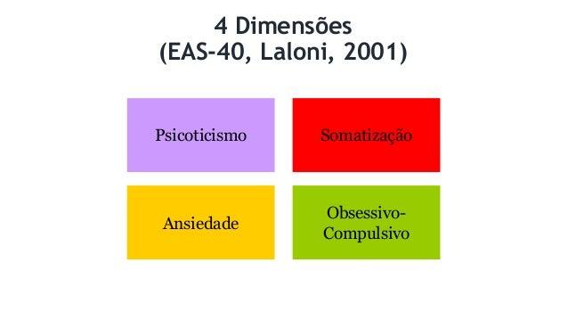 Avaliação dos TAs 1. A natureza exata do problema: como o paciente entende? 2. Psicopatologia específica. a) Atitudes quan...