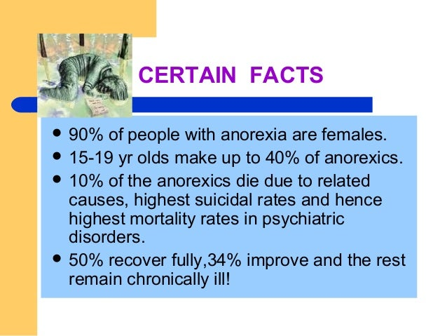 Image result for anorexia facts