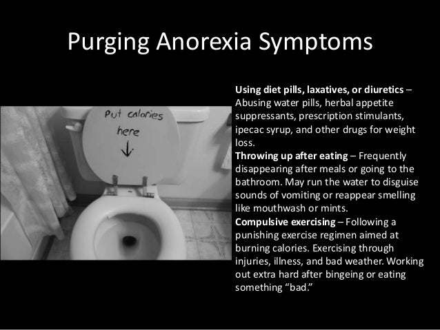 anorexia effects of pro anorexia A movement, largely internet-based, that portrays anorexia (and sometimes bulimia other eating disorders, such as compulsive overeating, are not part of the pro-ana.
