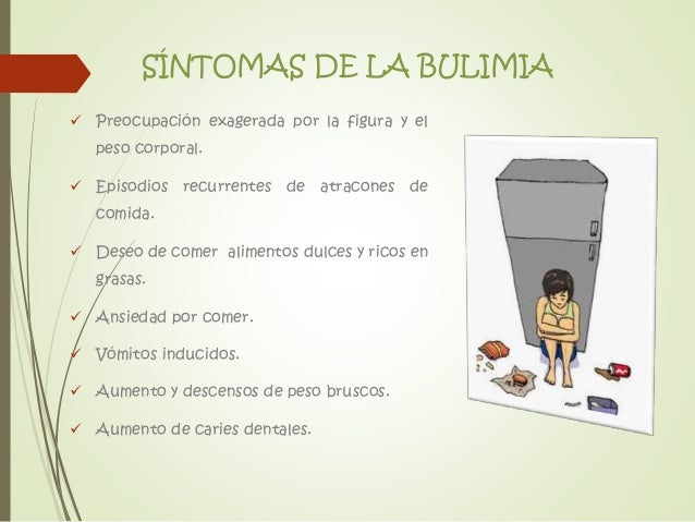 Situaciones de Riesgo: Anorexia y Bulimia