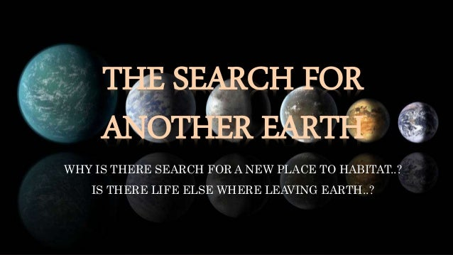 The Search for a Second Earth - TV.com
