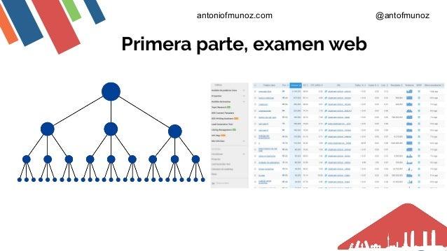 Primera parte, examen web antoniofmunoz.com @antofmunoz