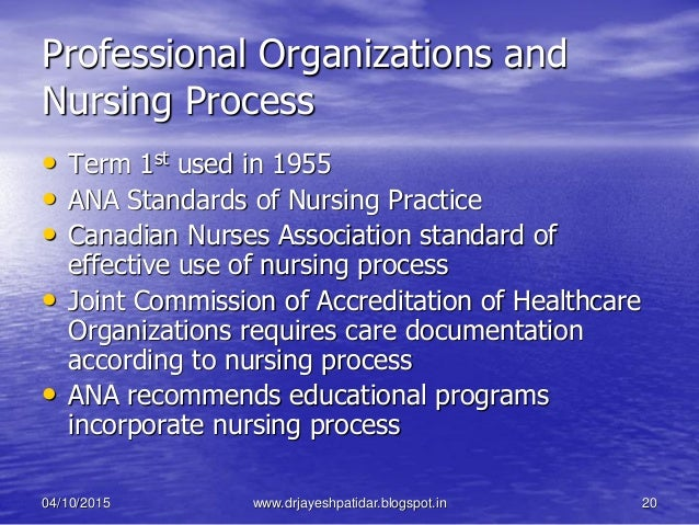 outline the process for developing nursing standard of practice Discussion question4#2 outline the process for developing nursing standards of practice, and identify the different entities that might be involved in developing a.