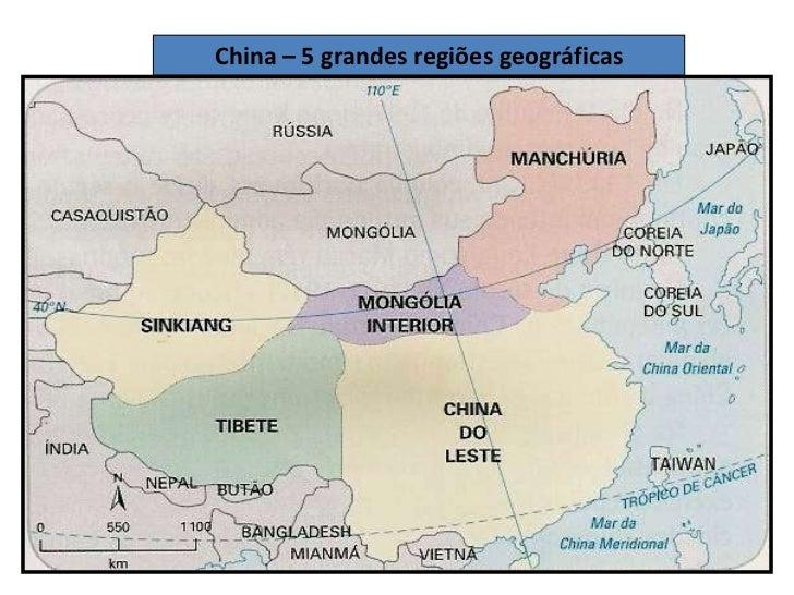 Resultado de imagem para china regioes