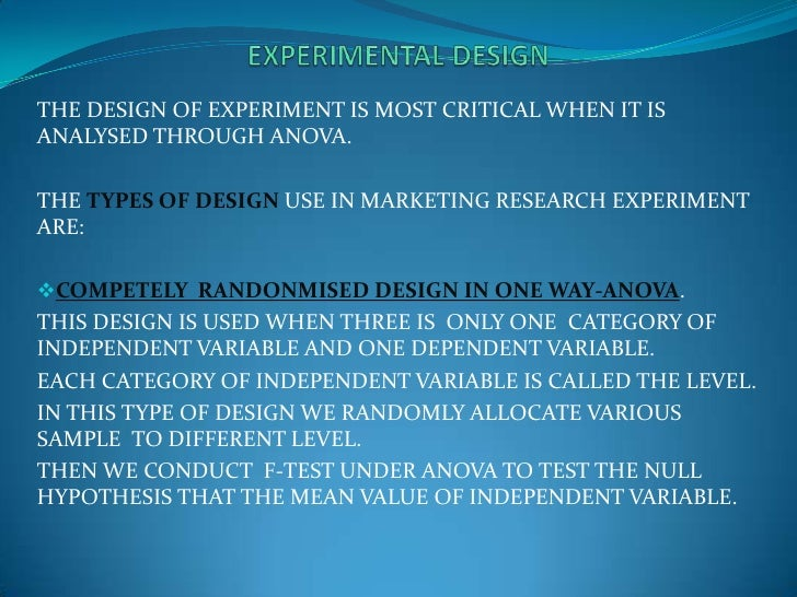 examples of dependent and independent variables in marketing research