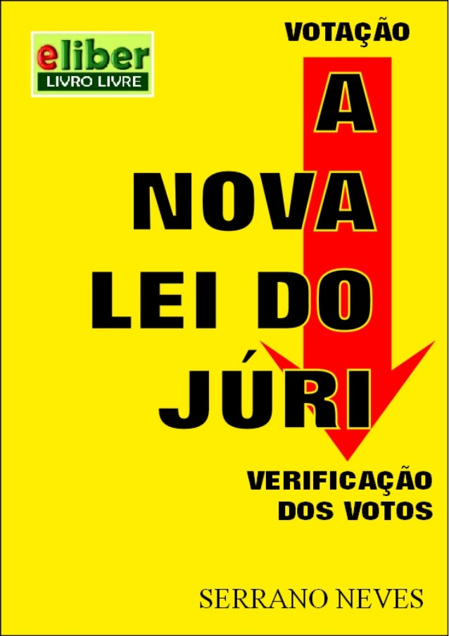 A NOVA LEI DO JÚRI - pág. 1