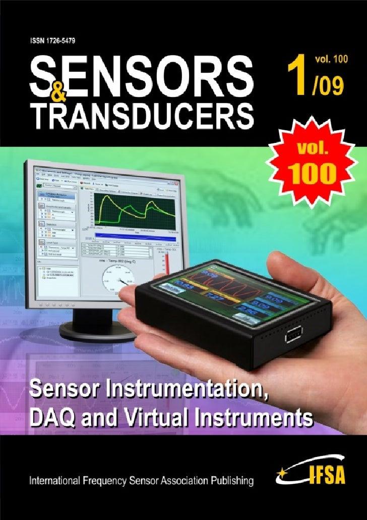 Sensors & Transducers     Volume 100                                     www.sensorsportal.com                            ...