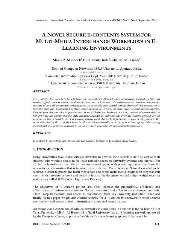 International Journal of Computer Networks & Communications (IJCNC) Vol.5, No.5, September 2013 DOI : 10.5121/ijcnc.2013.5...