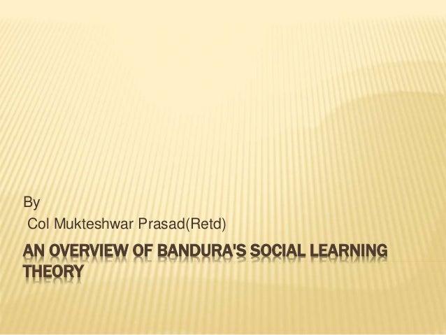 social learning theory bandura
