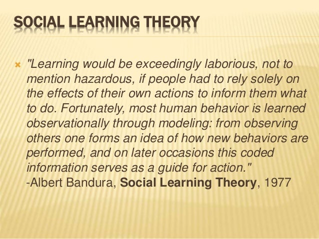 an overview of learning behavior theories Get a brief overview of contemporary theories in management in this topic from the free  learning activities incorporate learners' real-world activities in the.