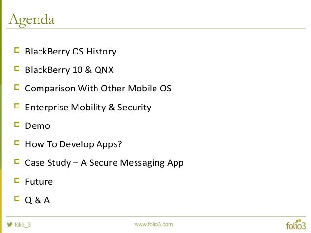 An Overview of Blackberry 10