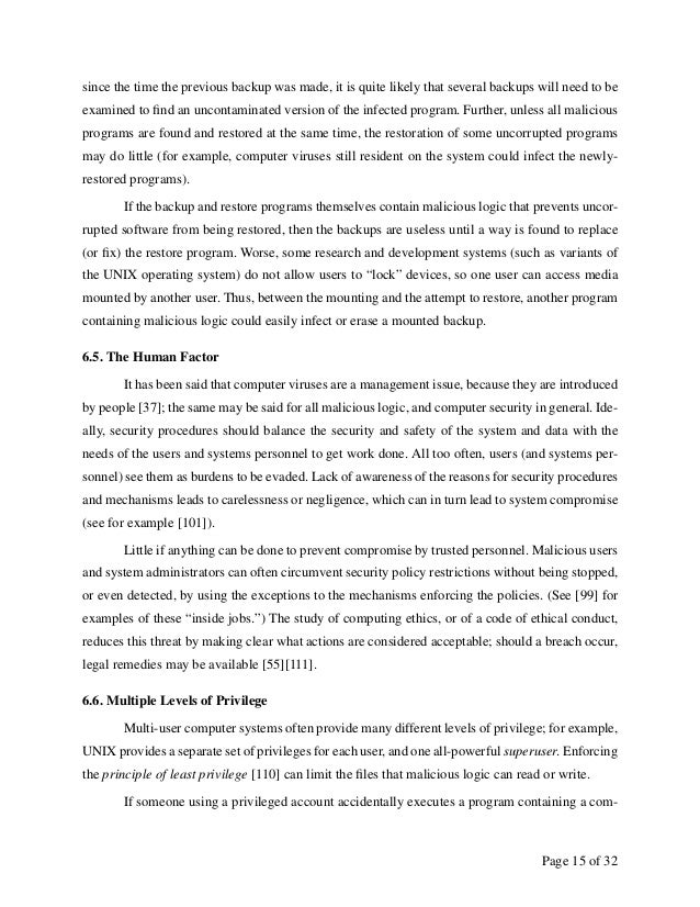 an overview of a computer virus Executive summary on the effects of computer virus and malicious software introduction this paper is intended to outline the effects of computer viruses and malicious software.