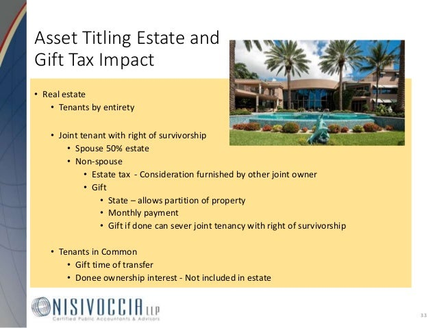 Tenants in common and inheritance tax