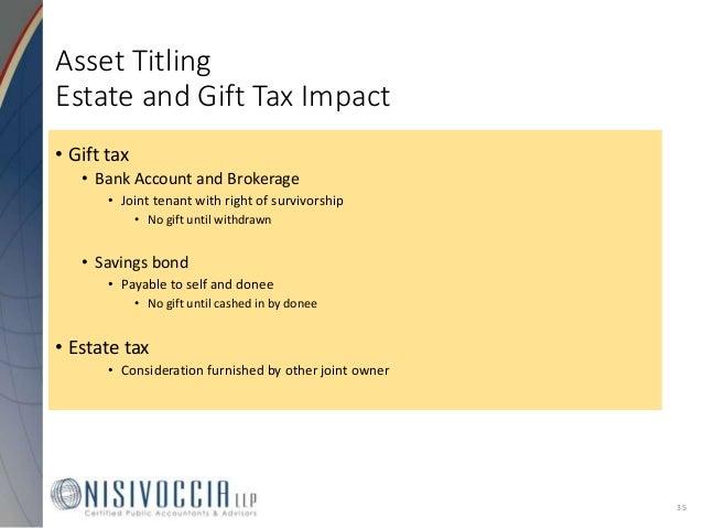 NJ Estate and Inheritance Tax 2017