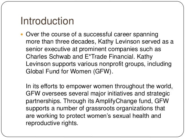 An Overview of Global Fund for Women's AmplifyChange Initiative
