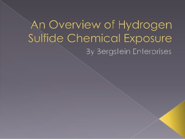 An Overview of Hydrogen Sulfide Chemical Exposure