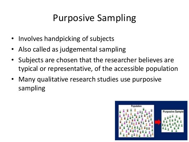 purposive sampling doc Chapter 6 sampling a s we saw in the previous chapter purposive o r unrepresentative quota population sampling error.