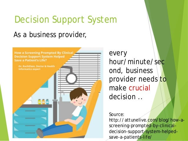 analytical decision support system for business Abstract applications of decision support systems (dsss) in the food industry,  and  our analysis showed that the companies in the supply chain, especially.