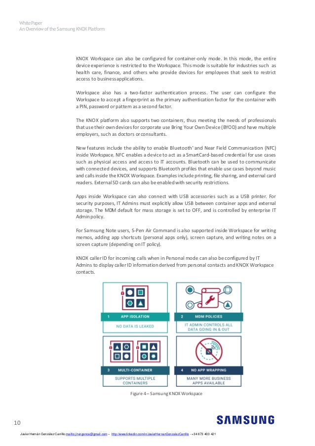 An Overview Of The Samsung Knox Platform V1 14