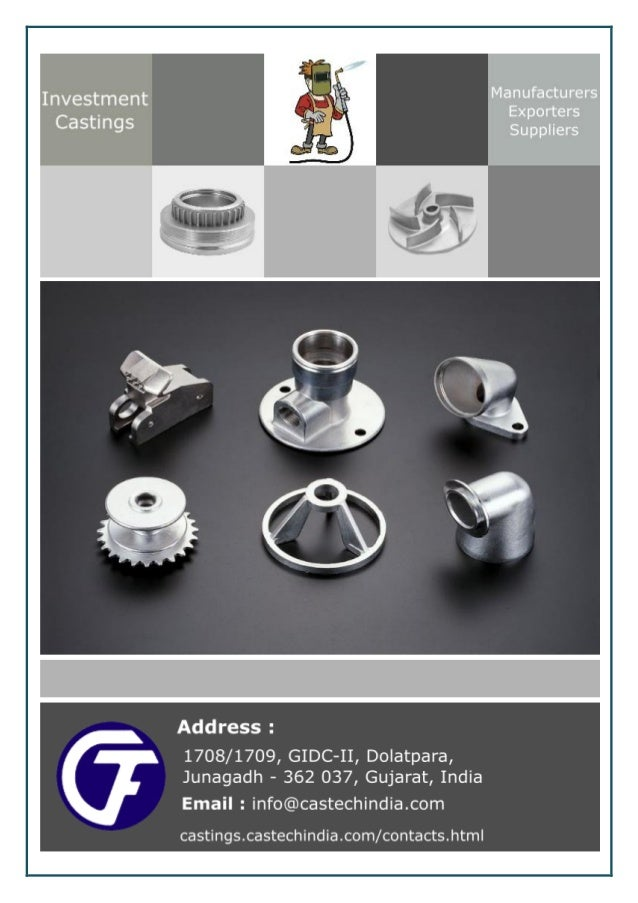 An overview on the working of an investment castings manufacturers Casting is one of the famous ways of manufacturing meta...