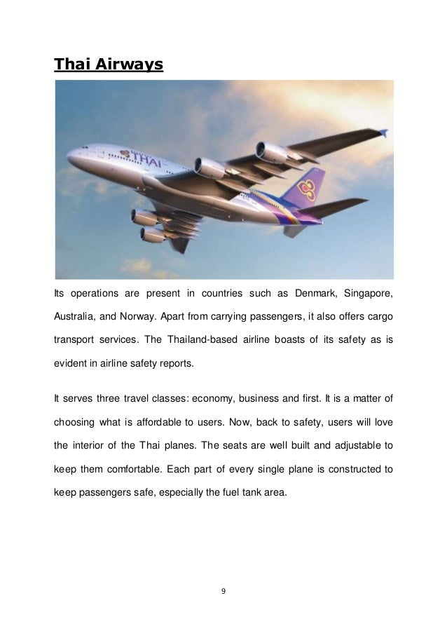 AN OVERVIEW ON WORLDS SAFEST AIRLINES - The 12 safest airlines in the world
