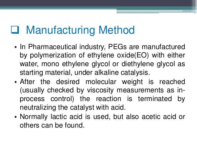 An overview peg & poloxamer