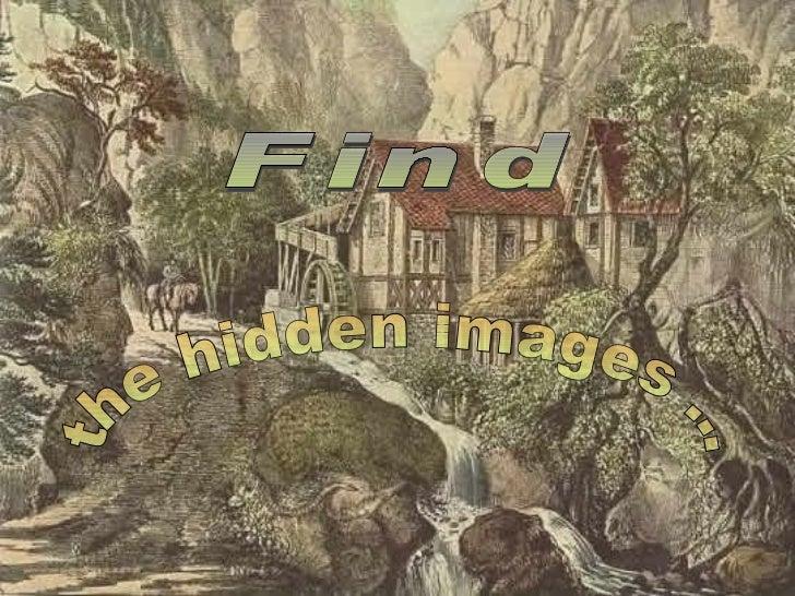 Find the hidden images ...