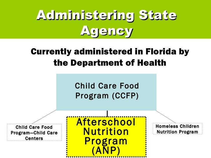 Florida Health Child Care Food Program