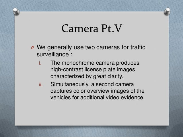 Automatic recognition of a car license plate using color image processing pdf
