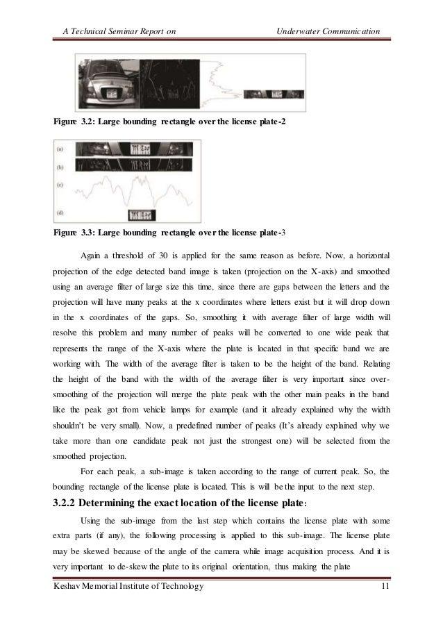 A Technical Seminar Report on Underwater Communication Keshav Memorial Institute of Technology 11 Figure 3.2: Large boundi...