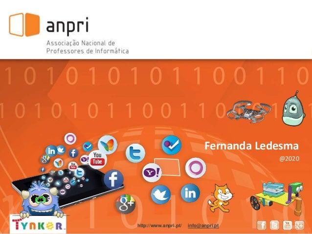 Fernanda Ledesma @2020 http://www.anpri.pt/ info@anpri.pt