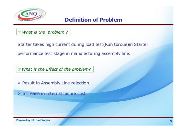 Problem Definition: Riordan Manufacturing