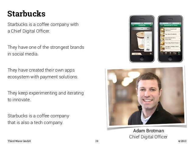 Image Result For Chief Digital Officer Starbucks